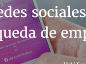 redes sociales búsqueda empleo.
