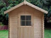 madera como material utilizar fabricación nuestras casetas para jardín
