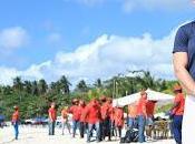 MITUR concluye jornada limpieza playa Semana Santa