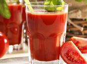 Zumo tomate {licuado frío}