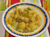 Receta ensalada patata guacamole