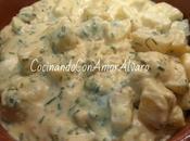 Patatas Salsa Cremosa Cebollino Mostaza
