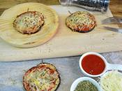 Mini pizzas berenjenas