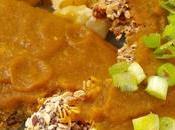 Filetes vegetales empanados semillas avena salsa zanahoria nueces
