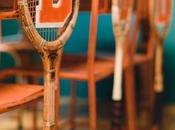 Decorando raquetas... velada vintage semana...