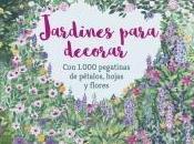 """Jardines para decorar"" (libro pegatinas adultos)"