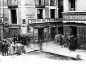 1868: Barricadas Calle Atarazanas durante revolución conocida como Gloriosa