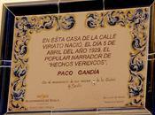 casa natal Paco Gandía.