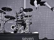 Nicola, baterista Talco Paellas Festival Alicante 2017