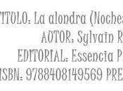Reseña: alondra (Noches Florencia