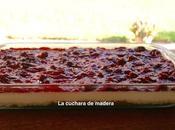 Tarta queso horno