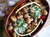 Hamburguesas sabrosas horno verduras