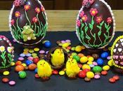 Huevos chocolate decorados (Huevos Pascua)