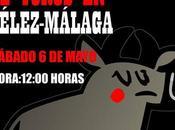 Manifestación contra corridas toros Vélez-Málaga. Mayo.