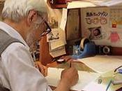 Hayao Miyazaki trabaja storyboard nueva película