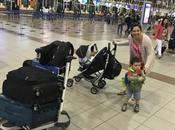 Viajes largos avión niños Historias primera persona