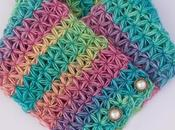 Cuello multicolor crochet