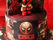 Dead Pool Chocolate Layer Cake