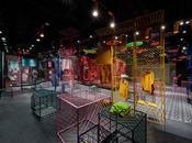 JOOOS Fitting Room, Hangzhou: estéticas contrastantes dentro mismo espacio