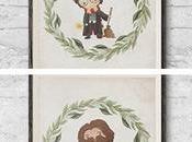 Láminas decorativas Harry Potter para imprimir