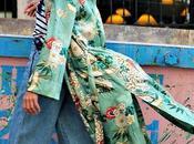 kimono verde vans