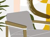 illustration: Elena Boils colección sillas