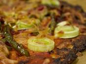 Pizza vegetariana coliflor