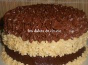 Torta chocolate para cumpleaños