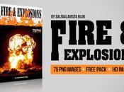Pack Imágenes Fuego Explosiones