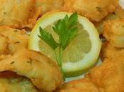 Receta pescado rebozado crujiente huevo