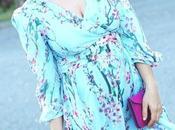 Vestido floral vaporoso METISU