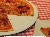Como hacer pizza crujiente masa casera paso