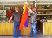 alcalde Algeciras prohibió bandera republicana caseta libros