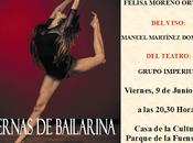 """Cartel presentación """"Piernas Bailarina"""" Alcaudete"""