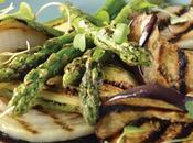 Receta verduras parrilla reducción balsámico