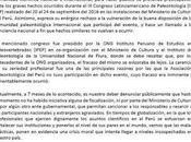 Pronunciamiento sobre fraude paelontológico Asociación Paleontológica Perú