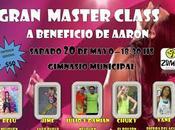 Gran Master Class beneficio Aaron Romero