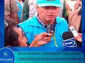 sabe dijo representación PPK: TITULAR MININTER REVELA BARRIO SEGURO FIASCO…
