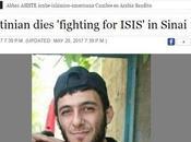 Palestino muere luchando ISIS Sinaí.