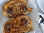 Sandwich Queso Champiñones