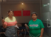 """sigue maten"""" Marichuy mantiene encadenada espera justicia"""