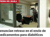 Denuncian retraso envió medicamentos para diabéticos