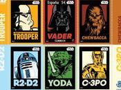 Star wars: correos presenta sello conmemorativo star wars aniversario saga