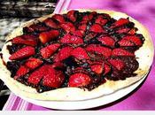 Pizza nuttela fresas