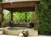 Cuatro ideas para colocar pérgola madera jardín