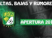 Altas, Bajas Rumores León