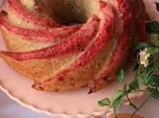 Bundt cake licuado frutos rojos