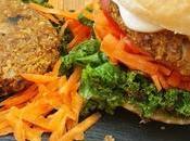 Hamburguesas coliflor verduras