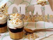 White chocolate brownie, Hershey´s pudding Salted caramel sauce jars.