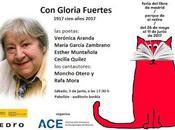 Homenaje Gloria Fuertes Feria libro Madrid